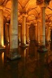 Basilika-Zisterne in Istanbul-Stadt Lizenzfreies Stockfoto