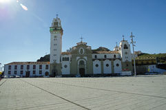 Basilikade Candelaria Stockfotografie