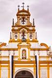 Basilikade-la Macarena Bell Tower Seville Spain Arkivbilder