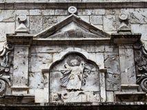 Basilikadel Santo Nino Cebu Filippinerna royaltyfri fotografi