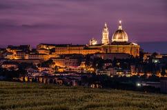 Basilikadellaen Santa Casa Arkivfoto