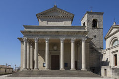 Basilikadi San Marino - San Marino Royaltyfria Foton