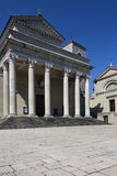 Basilikadi San Marino - San Marino Arkivbild