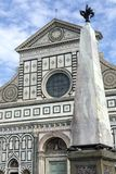 Basilikadi Santa Croce - Florence - Italien arkivbild