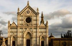 Basilikadi Santa Croce, Florence, Tuscany, Italien royaltyfri bild