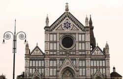 Basilikadi Santa Croce, Florenz Stockbild
