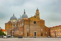 Basilikadi Santa Giustina, Padova, Italien Arkivbilder