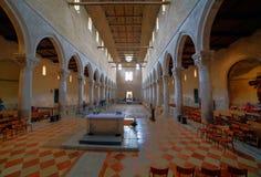 Basilikadi Santa Maria Assunta, Aquileia Royaltyfri Bild