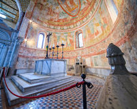 Basilikadi Santa Maria Assunta, Aquileia Stockbilder