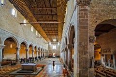 Basilikadi Santa Maria Assunta, Aquileia Stockbild