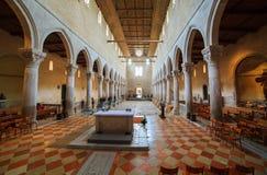 Basilikadi Santa Maria Assunta, Aquileia Stockfotografie