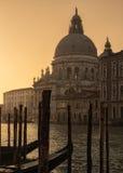 Basilikadi Santa Maria della Gruß in Venedig Stockfotos