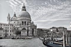 Basilikadi Santa Maria della Salute, Venedig Royaltyfri Bild
