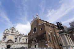 Basilikadi Santa Maria Gloriosa Royaltyfria Bilder