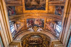 Basilikadi Santa Maria i Trastevere, Rome, Italien Royaltyfri Bild