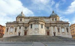 Basilikadi Santa Maria Maggiore, Rom, Italien Lizenzfreies Stockfoto