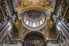 Basilikadi Santa Maria Maggiore, Rome, Italien Royaltyfri Bild