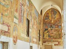 BasilikadiSanta Caterina d'Alessandria Galatina Apulia, Italien Royaltyfri Fotografi