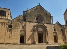 BasilikadiSanta Caterina d'Alessandria Galatina Apulia, Italien Fotografering för Bildbyråer