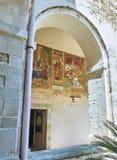 BasilikadiSanta Caterina d'Alessandria Galatina Apulia, Italien Arkivfoton