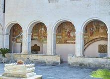 BasilikadiSanta Caterina D ` Alessandria Galatina Apulia, Italien Royaltyfri Fotografi