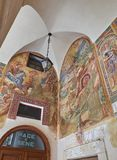 BasilikadiSanta Caterina d'Alessandria Galatina Apulia, Italien Royaltyfri Foto