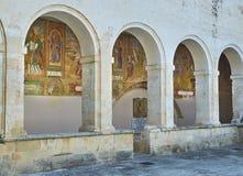 BasilikadiSanta Caterina d'Alessandria Galatina Apulia, Italien Arkivbild