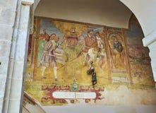 BasilikadiSanta Caterina d'Alessandria Galatina Apulia, Italien Arkivbilder