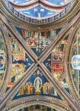 BasilikadiSanta Caterina d'Alessandria Galatina Apulia, Italien Arkivfoto