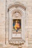 Basilikadomkyrka av Martina Franca Puglia italy arkivfoton