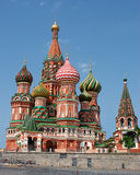 basilikadomkyrkakremlin moscow russia st Arkivfoto