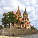 basilikadomkyrkamoscow röd russia s fyrkantig st Arkivbild