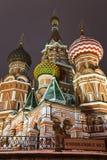 basilikadomkyrkamoscow röd s fyrkantig st Royaltyfri Bild