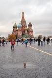 basilikadomkyrkamoscow russia s saint Royaltyfria Foton