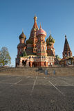 basilikadomkyrkamoscow russia s st Royaltyfri Fotografi