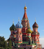 basilikadomkyrkamoscow russia st Arkivbilder