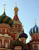 basilikadomkyrkamoscow russia st Arkivfoto