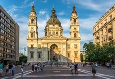 Basilikahelgon Stephens i Budapest Royaltyfria Bilder