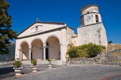 Basilikakirche von St. Biagio. Maratea. Basilikata. Italien. Stockfoto