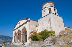 Basilikakirche von St. Biagio. Maratea. Basilikata. Italien. Lizenzfreie Stockbilder