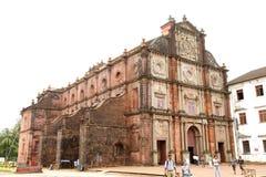 Basilikakyrkan rymmer det dödligt återstår av St Francis Xavi Arkivfoto