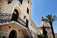 Basilikan av förklaringen i Nazareth Israel Royaltyfria Bilder