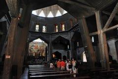 Basilikan av förklaringen i Nazareth Israel Royaltyfri Foto
