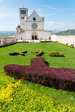 Basilikan av St Francis i Assisi Royaltyfri Bild