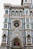 Basilikan av St Mary av blomman är den huvudsakliga kyrkan av Flore Royaltyfri Fotografi