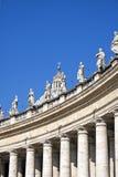 Basilikan av St Peters i Rome, Italien Royaltyfri Fotografi