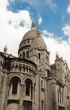 Basilikan Sacre Coeur, Paris, Frankrike Arkivbild