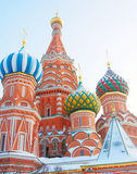 Basilikum-Kathedrale, rotes Quadrat, Moskau, Russland UNESCO-Welt er Lizenzfreies Stockbild