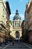 Basilique à Budapest Images libres de droits