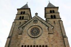 Basilique à Echternach Photographie stock